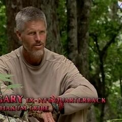 Gary making a confessional.