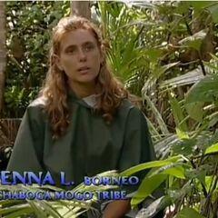 Jenna making a confessional