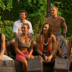 North Team at their first, and only, Tribal Council