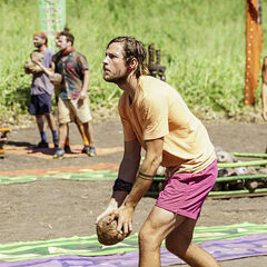 Takali competes in the seventh Immunity Challenge, <i><a href=