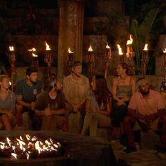 Kalokalo at their third Tribal Council.