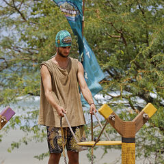 Alec at the first individual Immunity Challenge.
