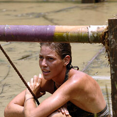 Amanda after the challenge.