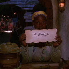 Cirie votes against Michaela.