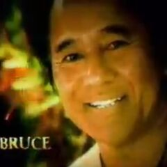 Bruce's photo in the opening.