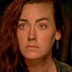 Chelsea at her last Tribal Council.
