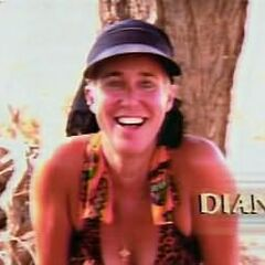 Diane's motion shot in the opening.