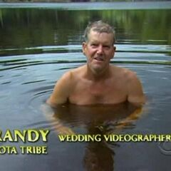Randy making a  confessional.