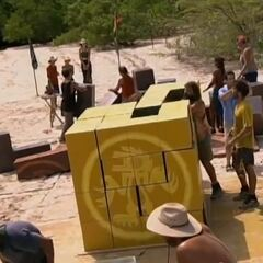 Saboga finally wins immunity.