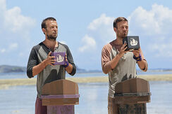 Vytas-baskauskas-and-aras-baskauskas-during-the-eighth-episode-of-survivor-blood-vs-water
