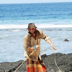 Russell at the second individual Immunity Challenge.