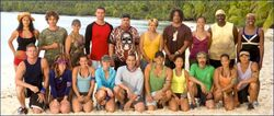 Survivor Cook Islands cast
