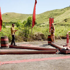 Yawa competes in the final pre-merge Immunity Challenge, <i><a href=