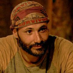 Joe at Tribal Council.