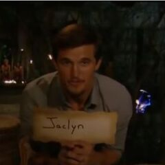 Jon votes for Jaclyn to win the game.
