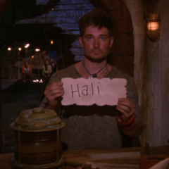 Caleb casts his last vote, against <a href=