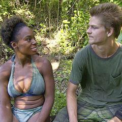 Spencer talking to Tasha.
