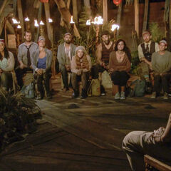 Vata at their third Tribal Council.