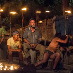 Nuku at their fourth Tribal Council.
