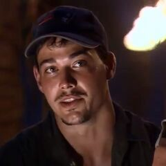 Rob at Tribal Council.