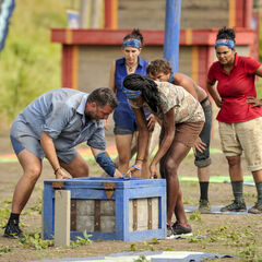 Nuku competes in the fifth Immunity Challenge, <i><a href=