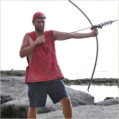 Chris at the Final Immunity Challenge.