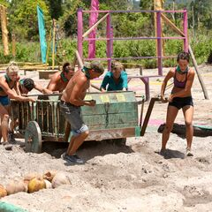 Ta Keo competes in the third Immunity Challenge, <i><a href=