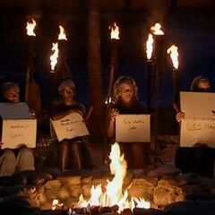 The final four compete for immunity at Tribal Council.