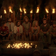 Vinaka at their fifth Tribal Council.
