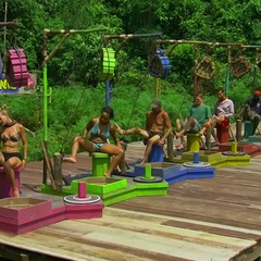 Orkun competes in the final nine Immunity Challenge, <i><a href=