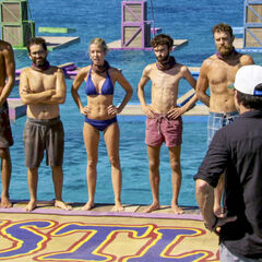 The final five at the Day 37 Immunity Challenge.