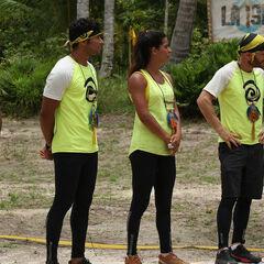 Luis, Sebastián, Fernanda and Facundo at the Finale.