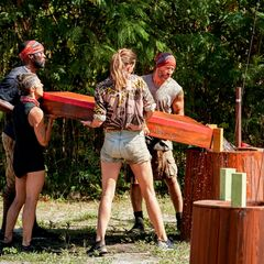 Dakal competes in the Immunity Challenge, <i><a href=