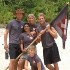 Team X (Camilla, Caroline, Göran, Rasmus, and Shante) entered in week three of the episode cycles.