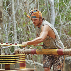 Wes competing at the Exile Duel.