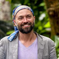 David in the Manu camp.