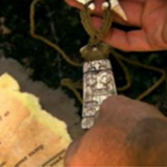 <i>Survivor: South Pacific</i> Hidden Immunity Idol, a tiki.