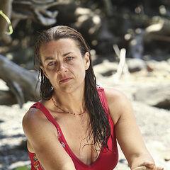 Laura Boneham at Galang beach.