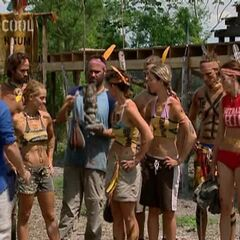 Nakúm at the third Immunity Challenge.