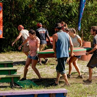 Yara competes in the Immunity Challenge, <i><a href=