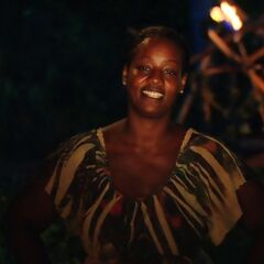 Cirie in her final words.