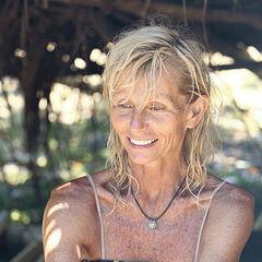 Tina at Kasama camp.