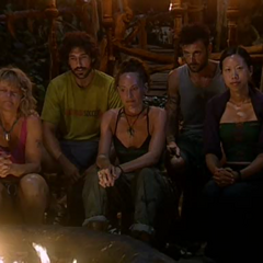 Mogo Mogo's last Tribal Council.
