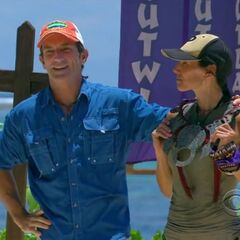 Monica wins her first individual immunity.