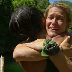 Dawn thanking Brenda for helping her.