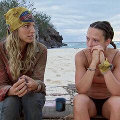 Sierra tells Sarah about her Legacy Advantage.
