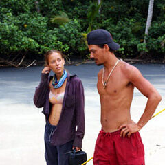Rob and Amber, the couple of <i>Survivor: All-Stars</i>.