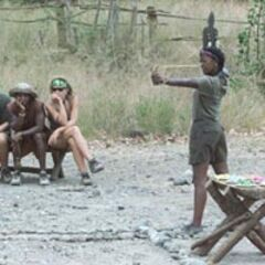 Vecepia in the final round of the final 6 Immunity Challenge.