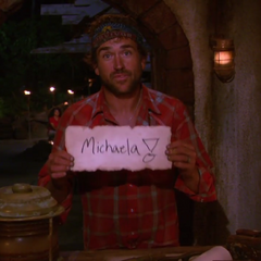 J.T. votes against Michaela.