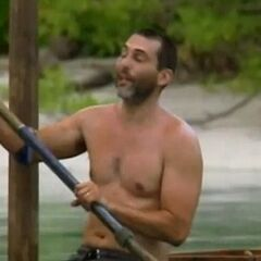 Jonathan competes in the Immunity Challenge, <i>Depth Charge</i>.